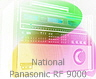 National Panasonic RF 9000